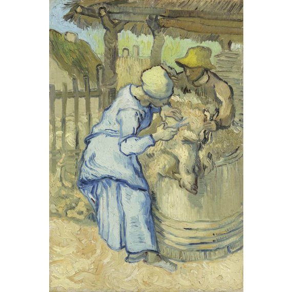 The Sheepshearer (after Millet)