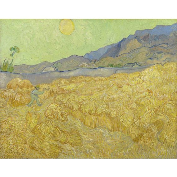 Wheatfield with a Reaper