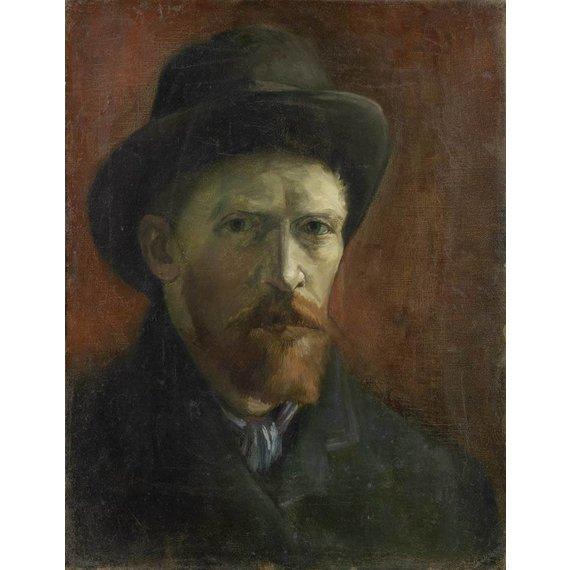 Self-Portrait with Felt Hat