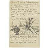 Letter to Theo van Gogh (with letter sketch Sower with Setting Sun