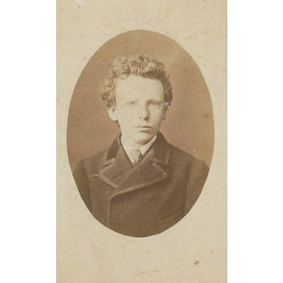 Vincent van Gogh at the age of 13 - Card / A4 reproduction