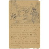 Letter to Theo van Gogh (with letter sketch The Raising of Lazarus (after Rembrandt)) - Book / Magazine / Flyer