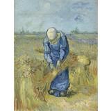 Peasant Woman Binding Sheaves (after Millet) - Multimedia / Film / Video