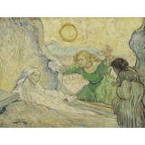 The Raising of Lazarus (after Rembrandt) - Card / A4 reproduction