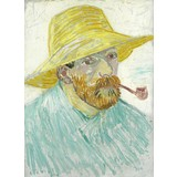 Self-Portrait with Pipe and Straw Hat - Multimedia / Film / Video