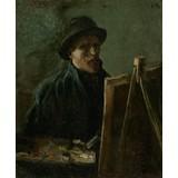 Self-Portrait as a Painter - Card / A4 reproduction
