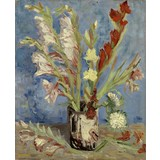 Vase with Gladioli and Chinese Asters - Book / Magazines / Flyer
