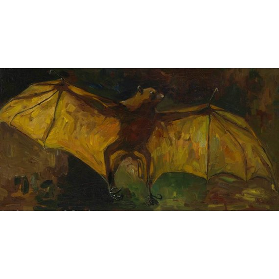 Flying Fox - Card / A4 reproduction