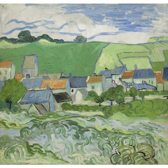 View of Auvers - Multimedia / Film / Video