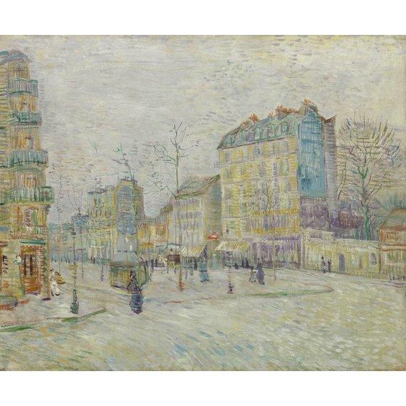 Boulevard de Clichy - Card / A4 reproduction