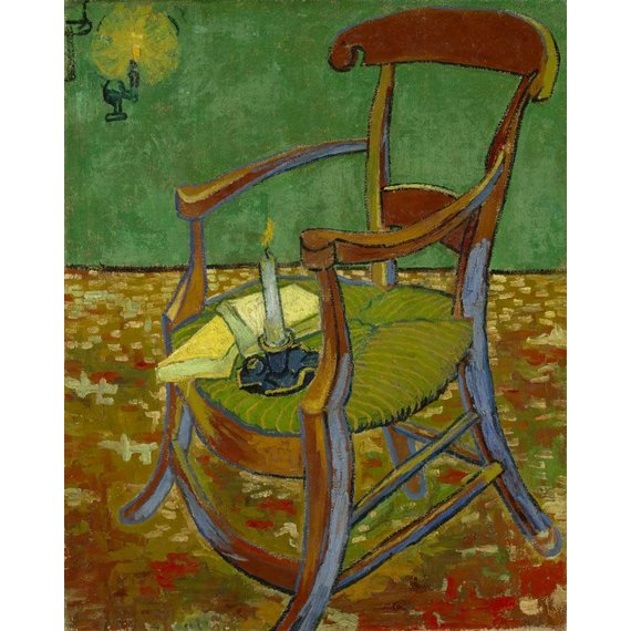 Gauguin's Chair - Card / A4 reproduction