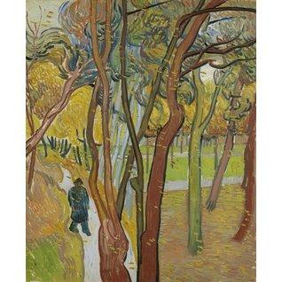 The Garden of Saint Paul's Hospital ('Leaf-Fall') - Card / A4 reproduction
