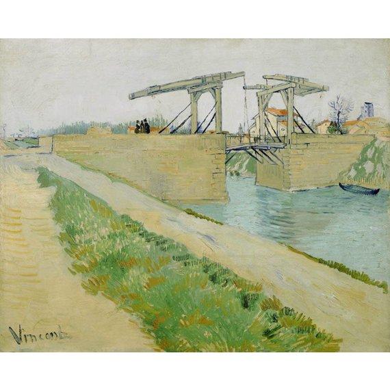 The Langlois Bridge - Card / A4 reproduction