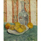Carafe and Dish with Citrus Fruit - Card / A4 reproduction
