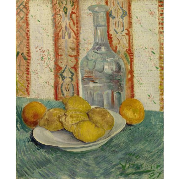Carafe and Dish with Citrus Fruit - Book / Magazines / Flyer