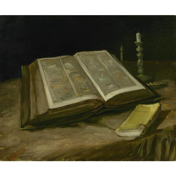 Still Life with Bible - Book / Magazine / Flyer