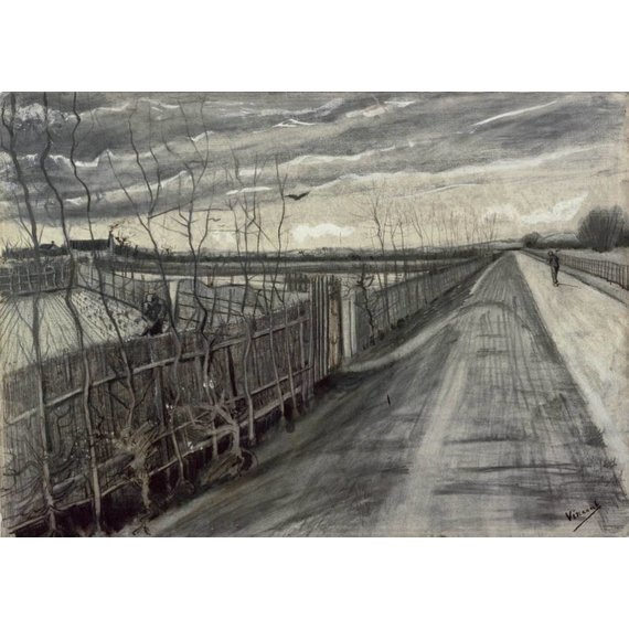 Country Road - Card / A4 reproduction