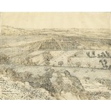 La Crau Seen from Montmajour - Card / A4 reproduction