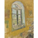 Window in the Studio - Card / A4 reproduction