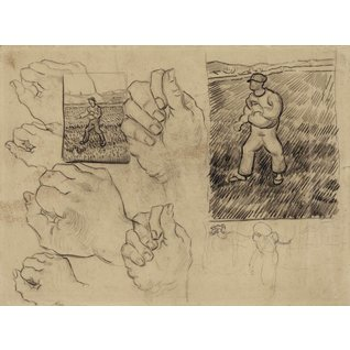 Studies of a Sower and of a Hand - Book / Magazines / Flyer