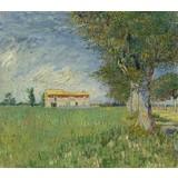 Farmhouse in a Wheatfield