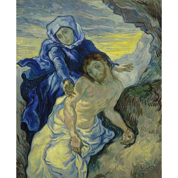 Pietà (after Delacroix) - Card / A4 reproduction
