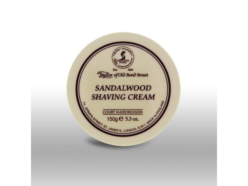 Taylor of Old Bond Street scheercrème - Sandalwood - 150gr