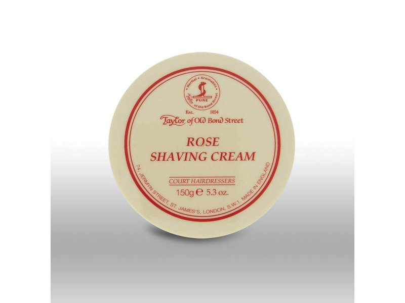 Taylor of Old Bond Street scheercrème - Rose - 150gr