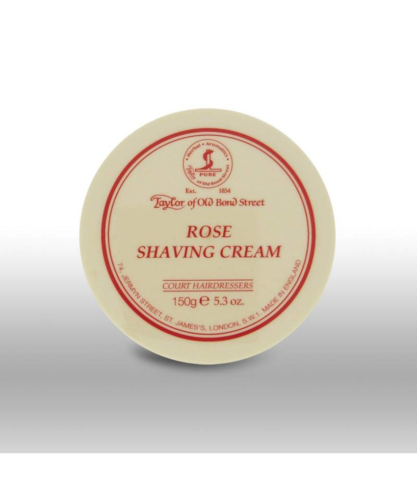 Taylor of Old Bond Street scheercrème - Rose - 150gr
