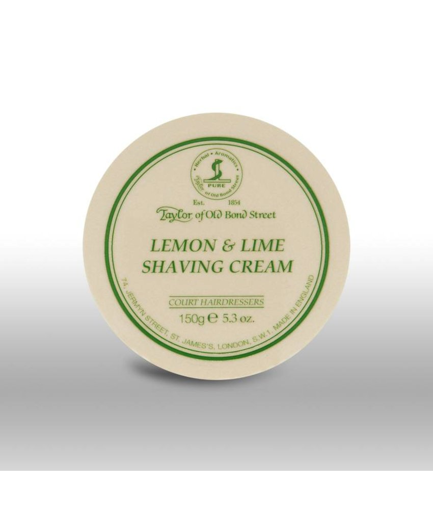 Taylor of Old Bond Street scheercrème - Lemon & Lime - 150gr
