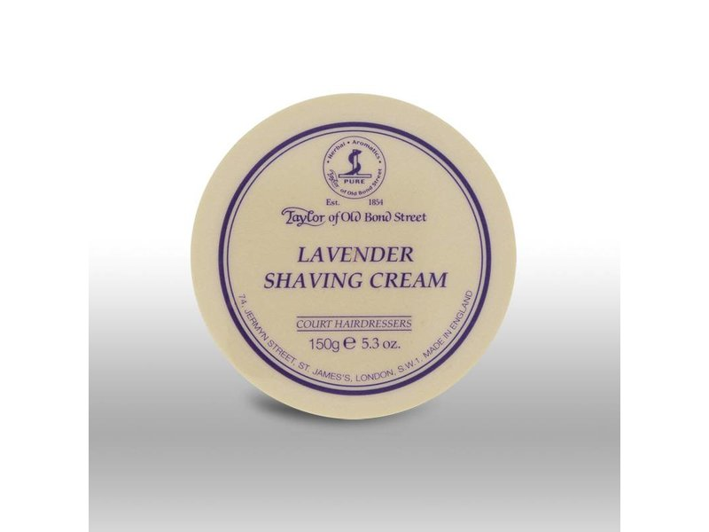 Taylor of Old Bond Street scheercrème - Lavendel - 150gr