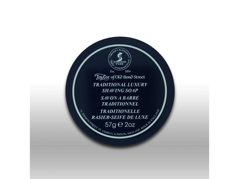 Taylor of Old Bond Street traditional luxury shaving soap