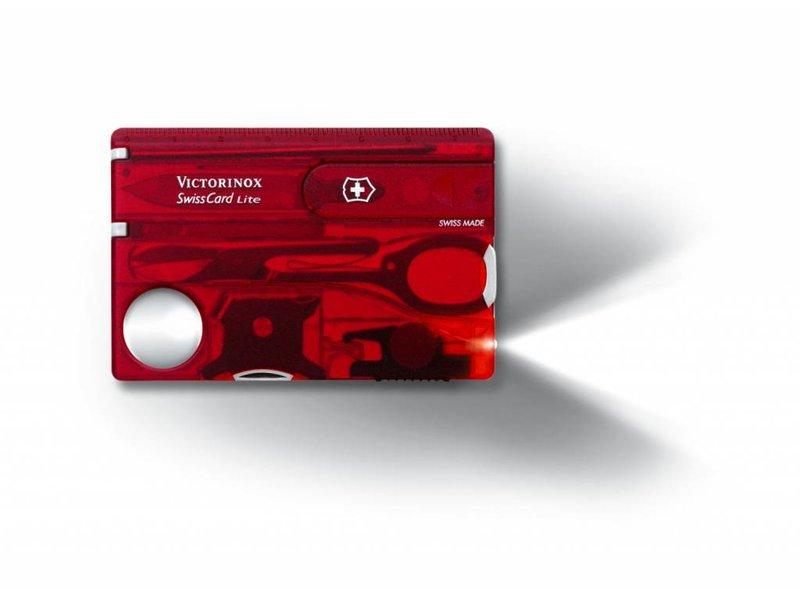 VICTORINOX SwissCard Lite Rood 0.7300.T