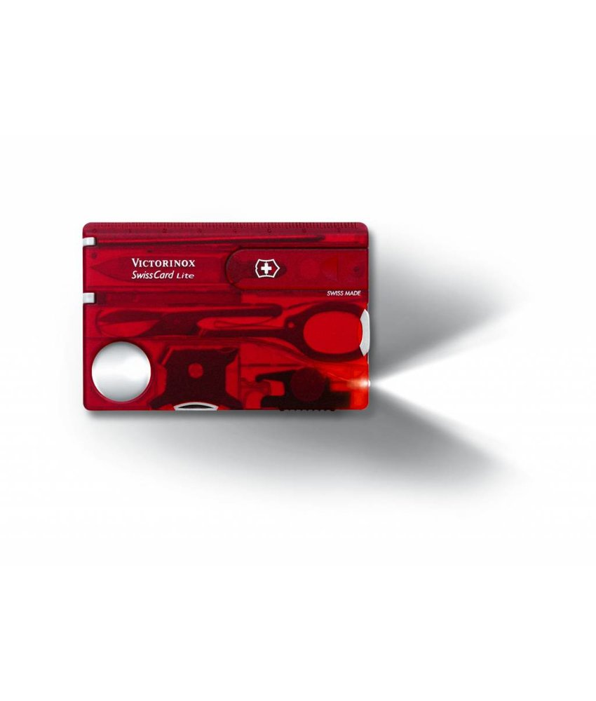 VICTORINOX SwissCard Lite Rood