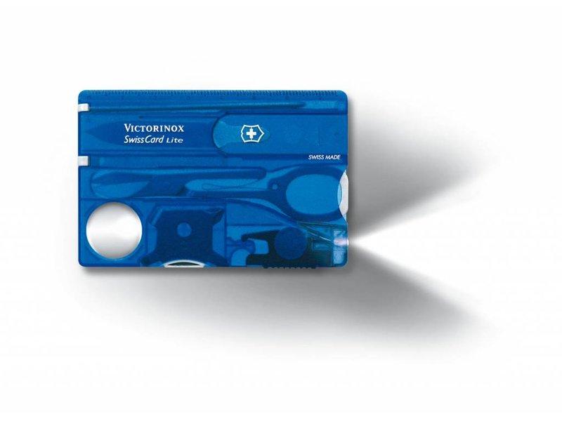VICTORINOX SwissCard Lite Blauw 0.7322.T2