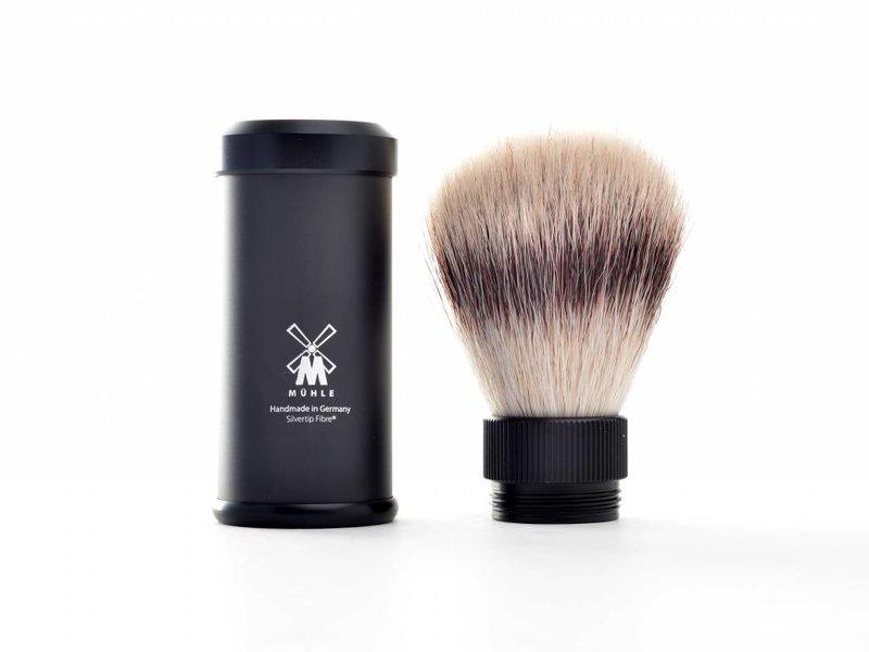 Mühle silvertip fibre reisscheerkwast – zwart
