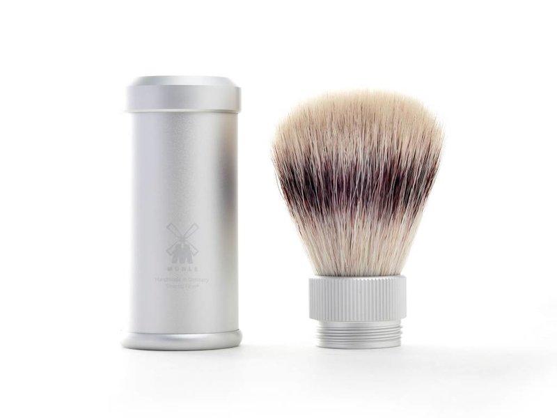 Mühle silvertip fibre reisscheerkwast – grijs