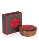 Crabtree & Evelyn Indian Sandalwood scheerzeep in mooie houten scheerkom