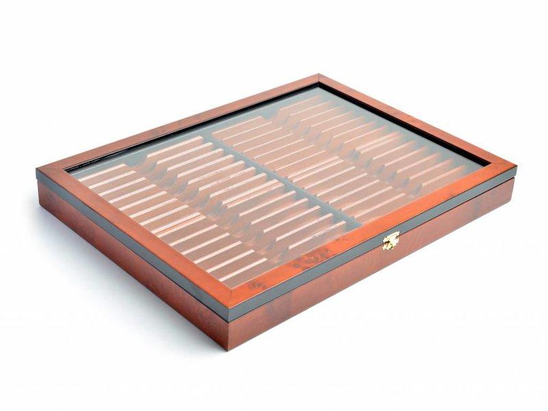 Thiers-Issard luxe doos voor 28 open scheermessen