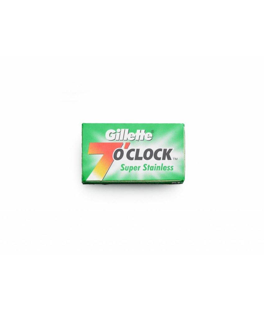 Gillette 7 O'Clock safety razor mesjes