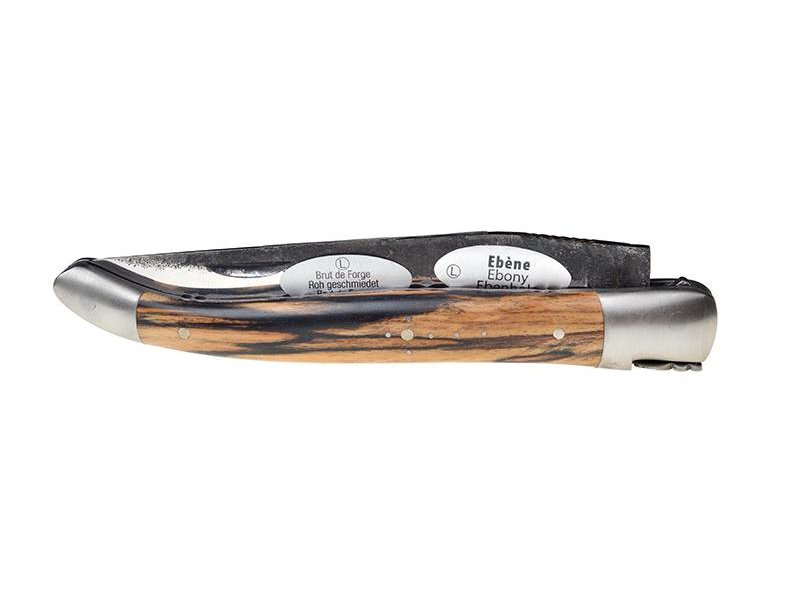 Laguiole en Aubrac 12cm ebbenhout 'Royal' Brut de Forge