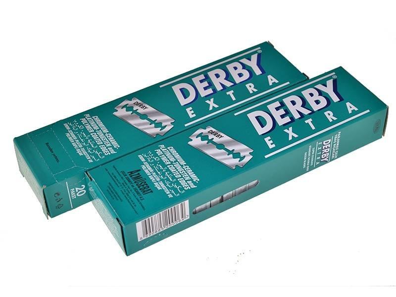Derby safety razor mesjes 200 stuks