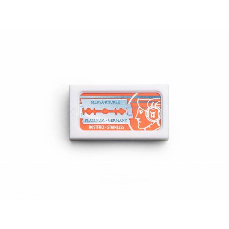 Merkur safety razor mesjes / doosje met 10 mesjes
