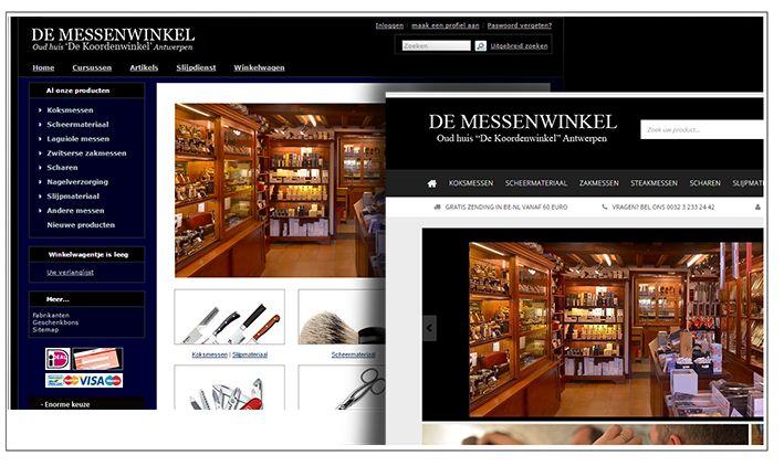 De website van De Messenwinkel heeft een facelift gekregen!