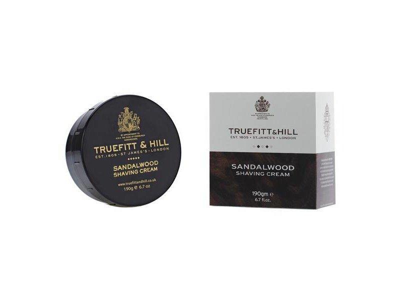 Truefitt & Hill Sandalwood scheercrème in mooie zwarte kom