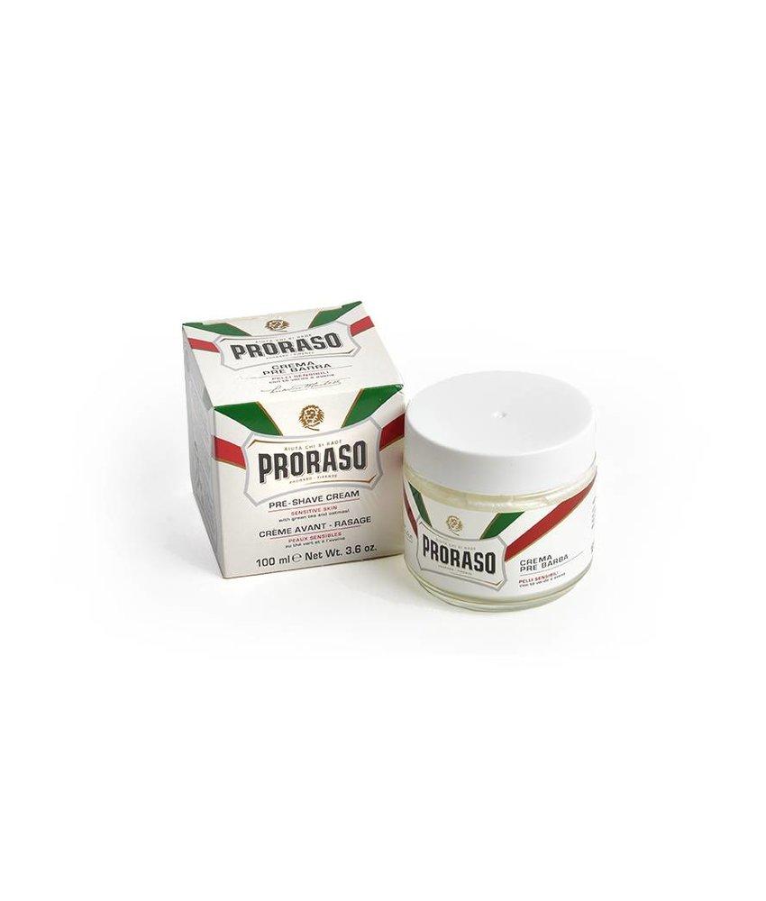 Proraso preshave voor de gevoelige huid
