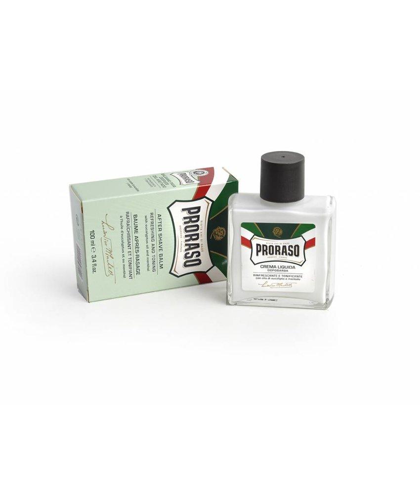 Proraso aftershave balsem met eucalyptus olie en menthol