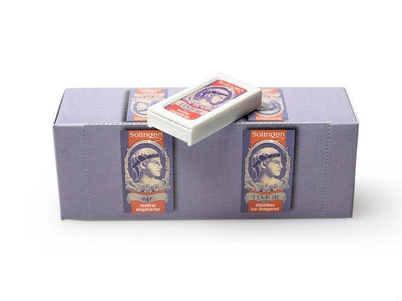 Timor safety razor mesjes - grote doos met 200 mesjes