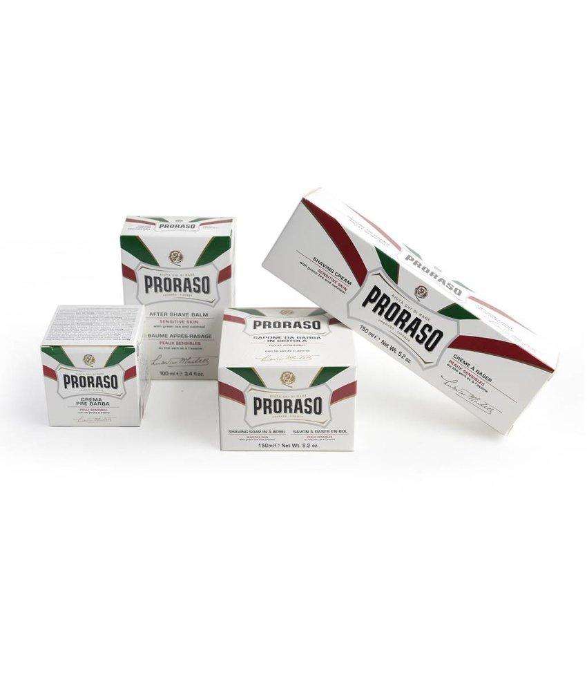 Proraso complete set scheerproducten voor de gevoelige huid