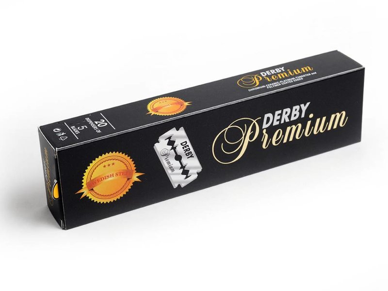 Derby Premium safety razor mesjes 100 stuks